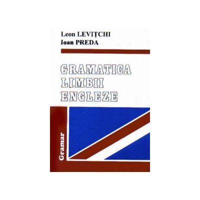 Gramatica limbii engleze - Levitchi