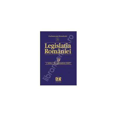 Legislatia Romaniei