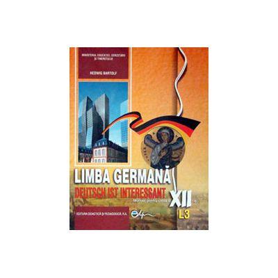 Limba germana (L3), manual pentru clasa a XII-a (Deutsch Ist Interessant)