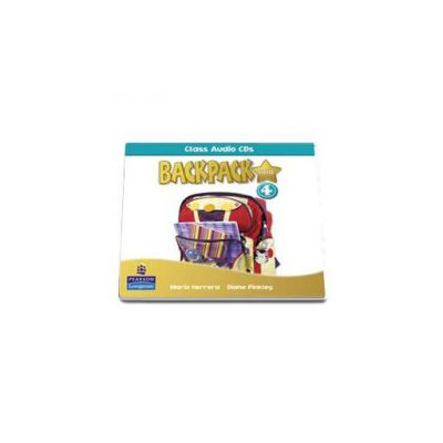 Backpack Gold 4 class audio CD