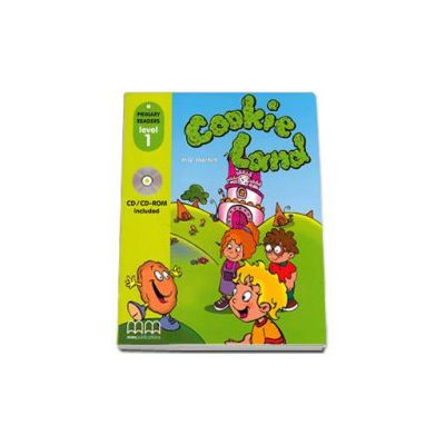 Cookie Land. Primary Readers level 1 reader with CD