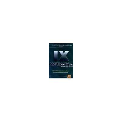 Matematica. Manual SAM (clasa a IX-a)
