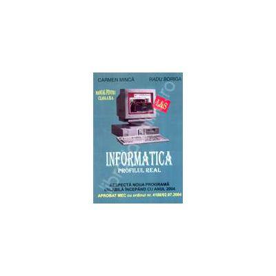 Manual de INFORMATICA, clasa a IX-a (profilul real)