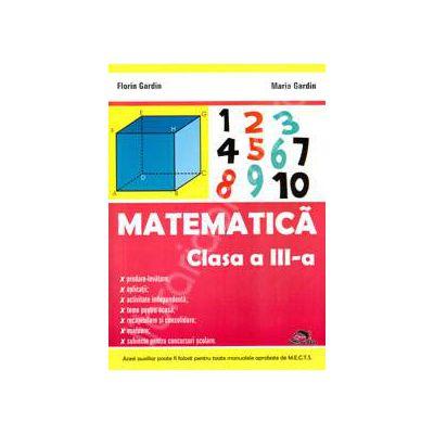 Matematica culegere pentru clasa a III-a (Editie, 2011)