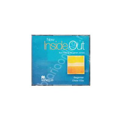 New Inside Out Beginner A1 Audio CDs, 3 (Contine 3 cd-uri)