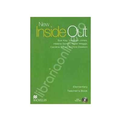 New Inside Out Elementary Teachers Book with Test CD
