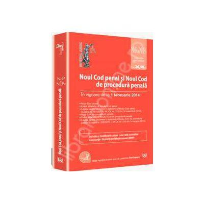 Noul Cod penal si Noul Cod de procedura penala, in vigoare de la 1 februarie 2014 (Legislatie consolidata)