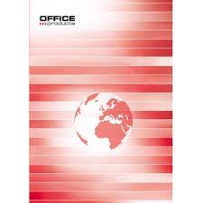 Registru A4, 96 file 55g/mp, coperti carton rigid, Office Products - dictando