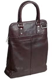 Geanta PIERRE Urban Line, dama, din piele maro, pentru laptop, 40 x 32 x 12cm,