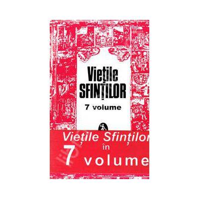 Pachet 7 Volume, Vietile Sfintilor. Prelucrare de AL. Lascarov Moldovanu