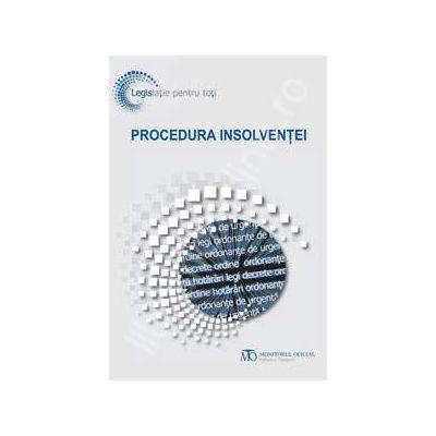 Procedura insolventei (Editia iunie 2013)