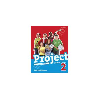 Project 2 (Third Edition Level 2) Class Audio CDs (2)