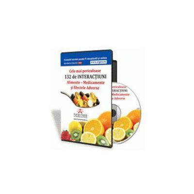 Cele mai periculoase Interactiuni Alimente-Medicamente si Efecte Adverse - Format CD (Pascale Barrow)