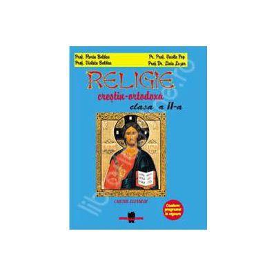 Religie crestin ortodoxa, Caietul elevului clasa a II-a