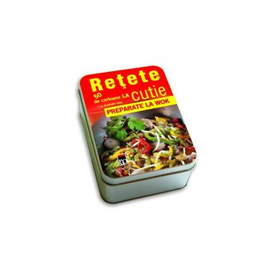 Retete la cutie - Preparate la wok