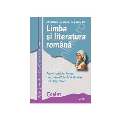 Limba si literatura romana cls. aIX-a SAM
