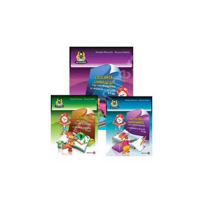 Set - Fise interdisciplinare 6-7 ani (Activitati matematice, Educarea limbajului, Cunoasterea mediului)