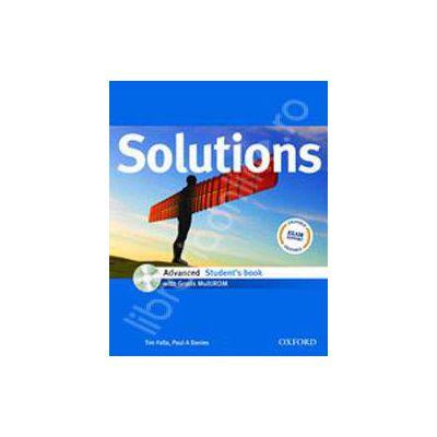 Solutions Advanced Teachers Book