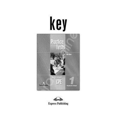Teste de limba engleza. Practice test for the revised CPE 1. Test Key 1