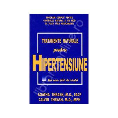 Tratamente naturale pentru hipertensiune (Un nou stil de viata)