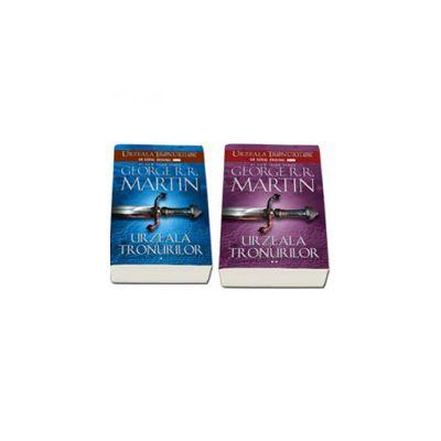 Seria - Cantec de gheata si foc. Urzeala tronurilor, Volumul I (Editie, paperback in 2 Volume)