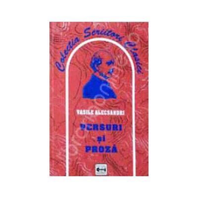 Versuri si proza (Vasile Alecsandri)