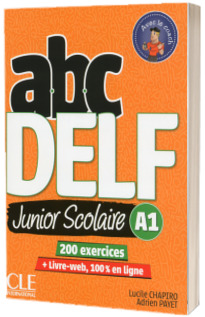 ABC DELF Junior scolaire - Niveau A1 - Livre + DVD + Livre-web - 2eme edition