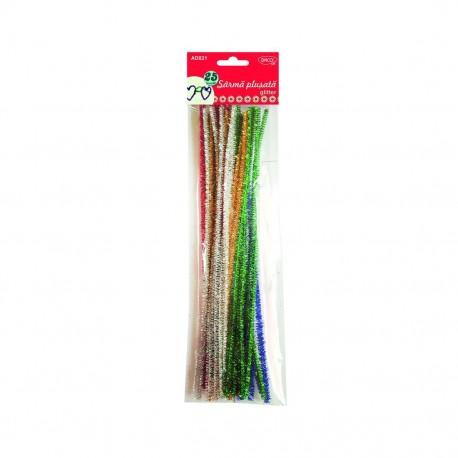Accesorii craft -  sarma plusata glitter Daco - AD021