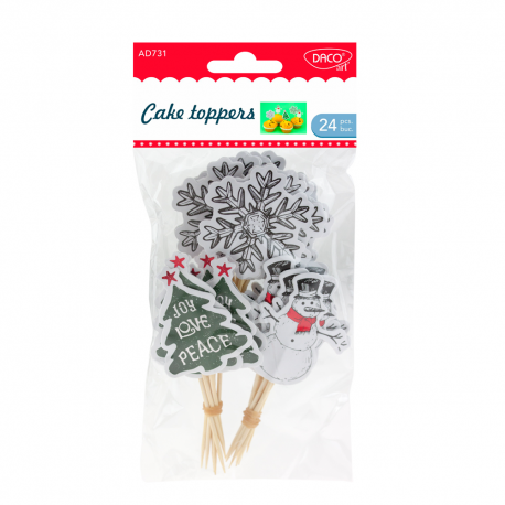 Accesorii craft - Cake Toppers DACO AD731