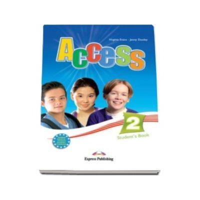 Access 2 Student book, nivel Elementary (A2). Manualul elevului pentru clasa a 6-a