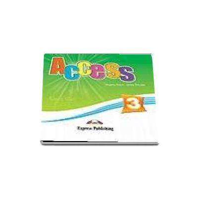 Access 3 Audio CD. Curs limba engleza pentru clasa a 7-a, nivel pre-intermediate (set 4 CD)