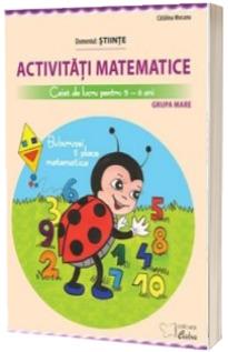 Activitati matematice. Caiet de lucru pentru 5-6 ani