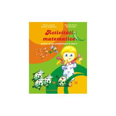 Activitati matematice pentru grupa pregatitoare si clasa I
