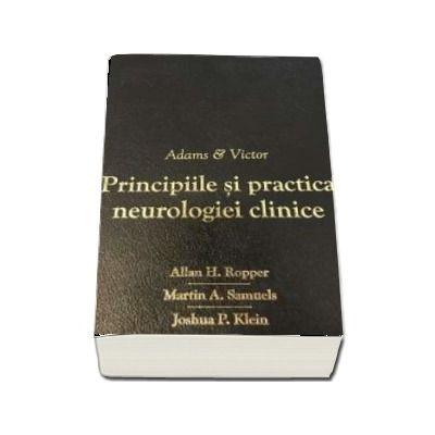 Adams and Victor Principiile si Practica Neurologiei Clinice. Editie de lux copertata in piele