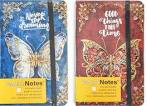 Agenda tip notes cartonat A6, Butterfly