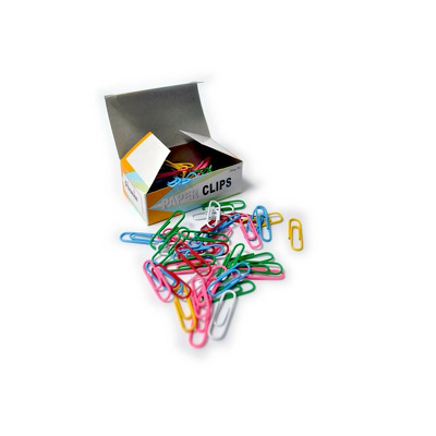 Agrafe de birou colorate nr. 2 - 28 mm, 100 buc, Arhi Design