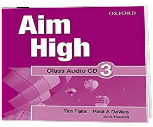 Aim High Level 3 Class Audio CD. A new secondary course which helps students become successful, independent language learners