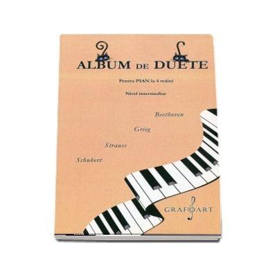 Album de duete pentru pian la patru maini. Nivel intermediar