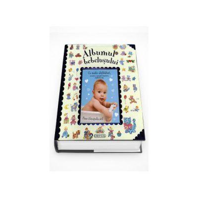 Albumul bebelusului (albastru)