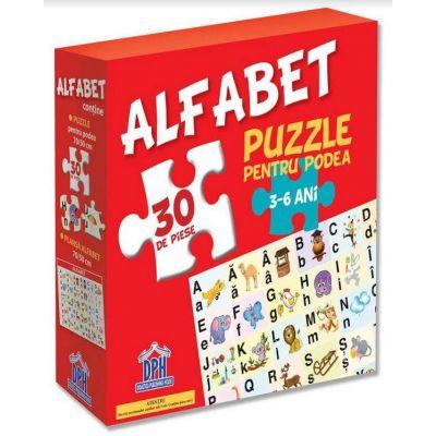 Alfabet - Puzzle pentru podea