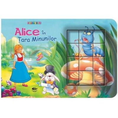 Alice in Tara Minunilor - Cubopuzzle