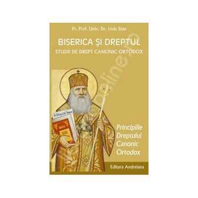 Biserica si dreptul. Studii de drept canonic ortodox. Principiile dreptului canonic volumul 3