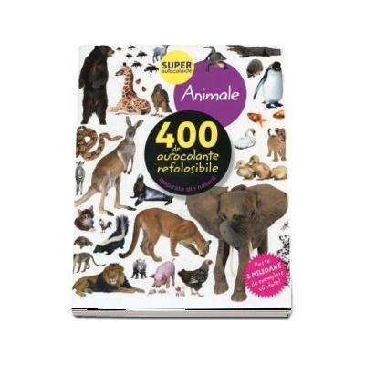 Animale. 400 de autocolante refolosibile, inspirate din natura