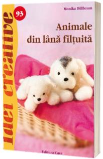 Animale din lana filtuita ( Idei creative 93)