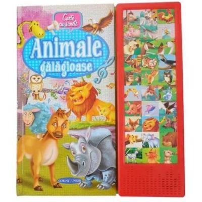 Animale galagioase - Carte cu sunete