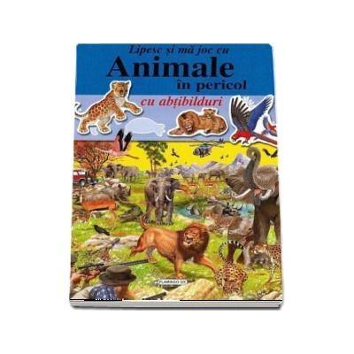 Animale in pericol - Lipesc si ma joc cu abtibilduri