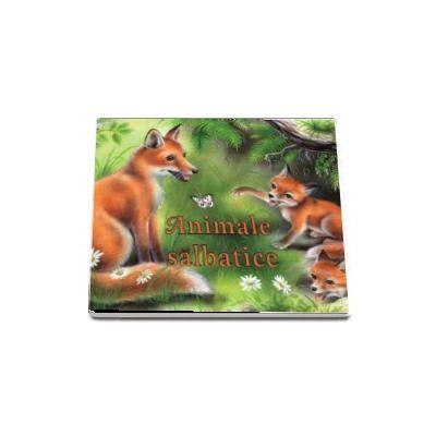 Animale salbatice (pliant cartonat)