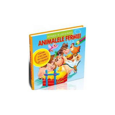 Animalele fermei (Detasezi, te joci si inveti)