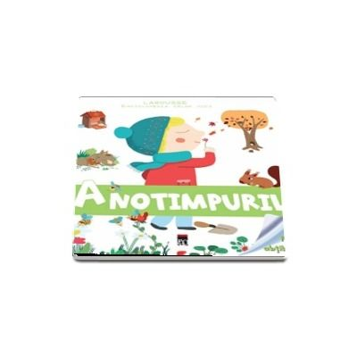 Anotimpurile. Enciclopedia celor mici, contine un puzzle si abtibilduri