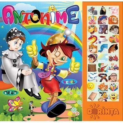 Antonime - Carte cu sunete